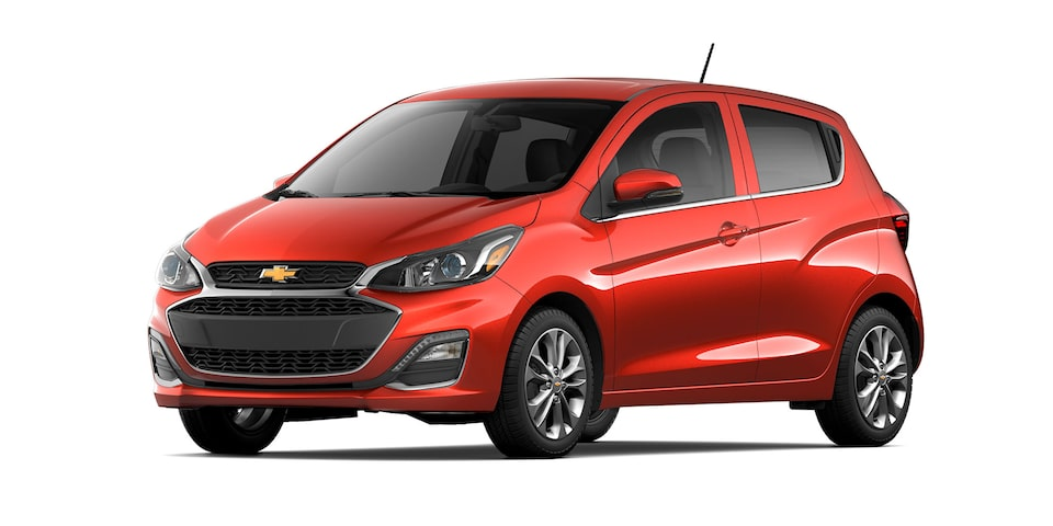 Chevrolet Spark 2021 color tigerlily